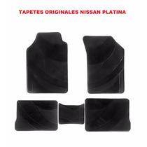Tapetes Originales Nissan Platina Vinil! Con Envio Gratis!