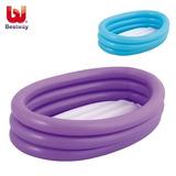 Pileta C/ Piso Inflable Bestway 91 X 66 X 25 Cms Bañera Bebe