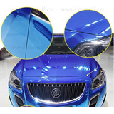 Vinilo Ploter Azul Cromado Moldeable Unico 1.52x50 Auto 3m