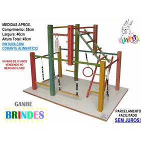 Playground Parquinho Maxi Colorido Calopsitas + Brinde!!
