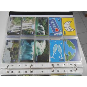 Cartões Telefônicos Usados Serie Cachoeiras