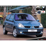 Renault Clio Ii 2004-2012 - Guardabarro Delantero Pvc C/aguj