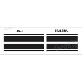 Adesivo Faixa Capo Traseira Mini Cooper Imp10