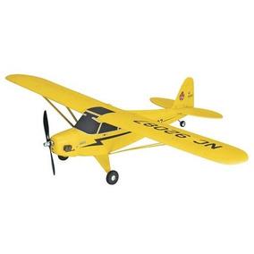 Avion Eléctrico De Radio Control, Piper J-3 Cub Flyzone.