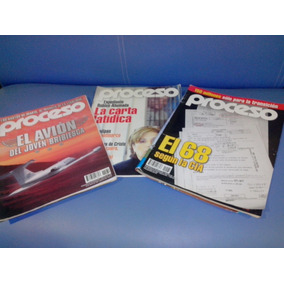 Trío Revistas Proceso 2005-2006 Usadas Bibriesca,robles,68