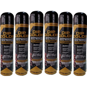 Dip Color Preto Brilho Envelopamento Líquido Spray Tuning