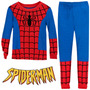 Pijama Niño Spiderman Tipo Disfraz Gratis Obsequio