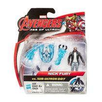 Pack 2 Bonecos Vingadores A Era De Ultron Nick Fury