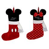 Bota Navideña Mickey Mouse Minnie Disney Decoración Mimi
