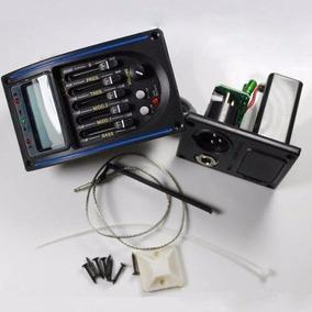 Captador Lc5 Pre Amp Equalizador P/ Violão Com Afinador Lc-5