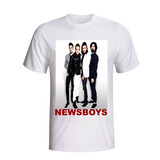 Camisa Camiseta Newsboys Banda Cristã Pop Rock Gospel