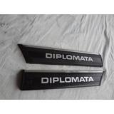 Frisos Para Lama Opala Diplomata 80/81 Original Gm Raros