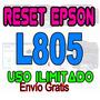 Reset Almohadillas Epson L805 Garantizado Envio Gratis