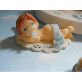 10 Souvenirs Bebes En Porcelana Fria. Nacimiento. Bautismo