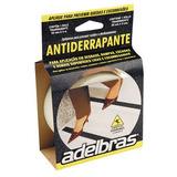 Fita Adesiva Antiderrapante Preta 50mmx5m Adelbras