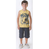 Trick Nick - Camiseta Infantil Meia Malha Sem Mangas 100320