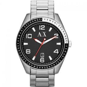 Relógio Armani Exchange Ax1303 Maculino Pulseira Aço Garanti