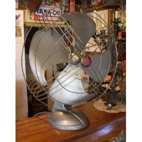 Antiguo Ventilador 1940 Gran Caeba 38cm Sin Probar ! (2954)