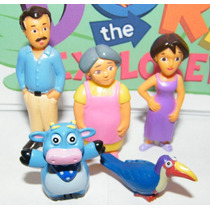 Tb Dora La Exploradora Dora The Explorer Deluxe Figure Set