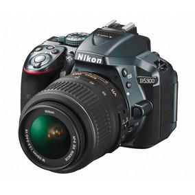 Nikon Reflex D5300 Kit 18-55mm 24mp Full Hd 1080p Wi-fi Hdmi