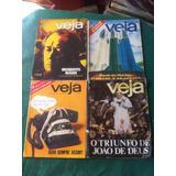 Lote Com 14 Revistas Veja Antigas 1969 1978 1980 1981 1982