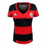 Camisa Do Flamengo Feminina Baby Look Fla Nova Mulher Time