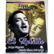 Dvd Cine Mexicano De Oro Jorge Negrete El Rebelde Tampico