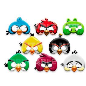 Mascara Antifaz Angry Birds Fiesta Cumple