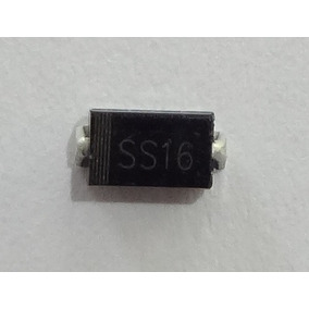 Diodo Smd Ss16 60v 1a Igual Sk16 B160 1007 D1 D2 Hp Epson