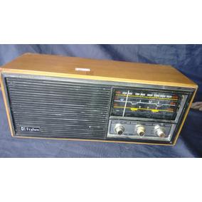 Radio Frahn Rc 300 Bivolt E Pilha Antigo De Madeira Frete G