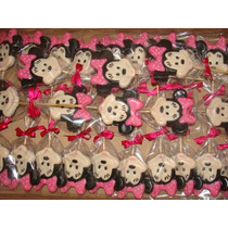 Pirulito De Chocolate Personalizado - Minnie