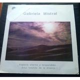 Lp Luis Advis Poemas De Gabriela Mistral