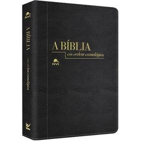 A Bíblia Em Ordem Cronológica - Preta / Grande