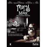 Dvd Original Do Filme Mary E Max Uma Amizade Diferente