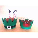 Wrappers Personalizados Para Cupcake Natal