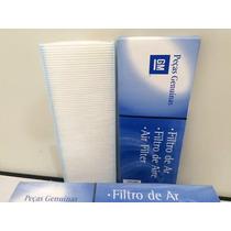 Filtro De Cabine Astra Vectra Original Gm + Higienizador