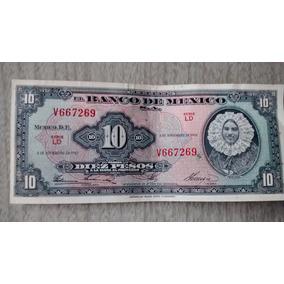 Billete $10 Pesos - Mexico - 1961