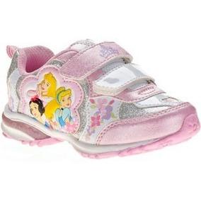Zapatillas Disney Princesas Original Talle 23 Import Nuevas