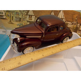 Chevrolet 1939 Coupe Metalico. 1/24