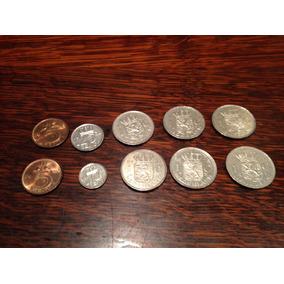 Monedas De Holanda Nederland Década 70/80 X 10 Unidades