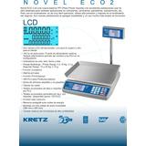 Balanza Electr Kretz Eco Novel 31kg 220v/bat - Hgham - Itzgó