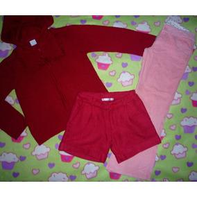 Saquito Cheeky Talle 12 Años+short Paño Mimo+pantalon Pana
