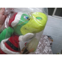 Muñeco Guiñol O Títere De Danonino Disfraz De Santa Claus