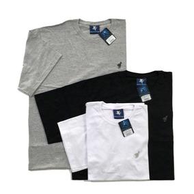 Camiseta Lisa Algodão Plus Size Tamanhos Grandes 102