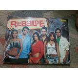 Album Livro Ilustrado Com Cards Rebelde Completo Rbd