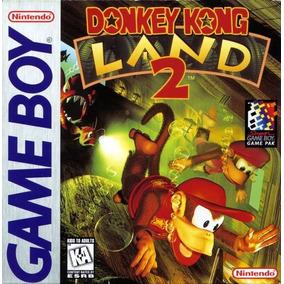 Juego Donkey Kong Land 2 Original Nintendo Game Boy