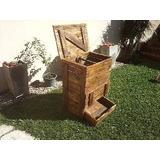 Compostera Para Residuos Organicos En Madera Reciclada