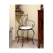 Cadeira Em Ferro Forjado