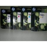 Cartuchos De Tinta Hp 940 Xl Originales