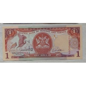 Trinidad And Tobago - Bela Cédula De 1 Dollar 2002 Fe